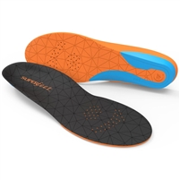 Superfeet FLEXmedium Shoe Insoles. (Orange/Black)