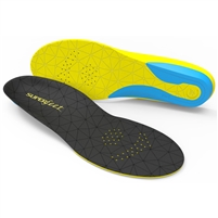 Superfeet FLEXthin Shoe Insoles. (Bolt)