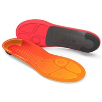 Superfeet Run Pain Relief Shoe Insoles. (Orange)