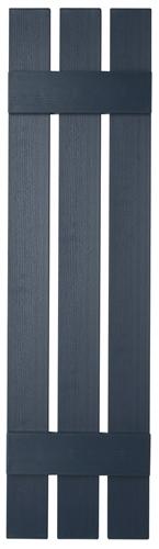 Mid America Board-N-Batten 12 3 Board Spaced Vinyl Standard Shutter 1 Pair 71 166 Midnight Blue