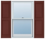Williamsburg Raised Panel Master Shutter
