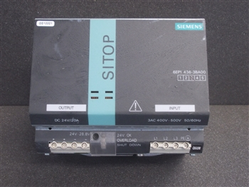 USED SIEMENS SITOP POWER SUPPLY (6EP1436-3BA00)