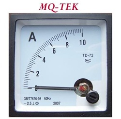 DC ammeter, Panel Meter, 72x72 mm, Battery Charging, Solar Panel, Analog Panel Meter, 10 ampere DC ammeter, Panel Cut Out, DC Circuits, Battery Ammeter, Rectifier, AC-DC, DC-DC, MacMaster Carr Panel Cut-out, Panel Metering, Control Panel Display, Simpson