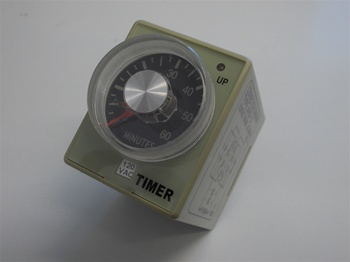 TIME DELAY TIMER,  8 PINS,  0 TO 60 MINUTES