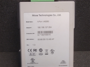 USED MOXA TECHNOLOGIES PORT (NPORT 1A5250)