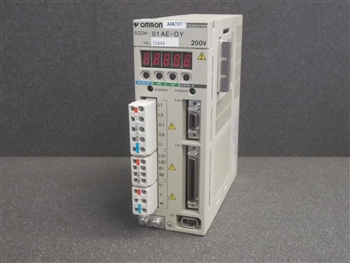 USED OMRON MOTOR DRIVE CONTROLLER (SGDH-01 AE-OY)