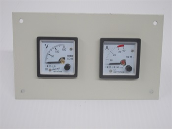 48 MM PANEL METERS WITH TWIN HOLE FACE PLATE