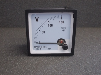 0 TO 150 VOLTS AC VOLTMETER - ANALOG