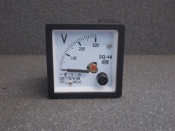 0 TO 300V ANALOG Panel Meter Voltmeter (48MMX48MM)