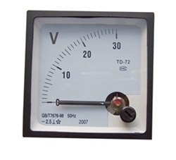 0-30VDC ANALOG PANEL VOLTMETER (72X72X45MM)