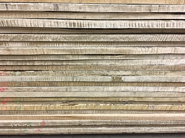 25 Board Foot Bundle Of 10/4 Curly Maple
