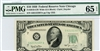 2010-GW Wide, $10 Federal Reserve Note Chicago, 1950