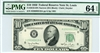 2010-HN Narrow, $10 Federal Reserve Note St. Louis, 1950
