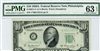2011-C (CA Block), $10 Federal Reserve Note Philadelphia, 1950A