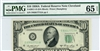 2011-D (DA Block), $10 Federal Reserve Note Cleveland, 1950A