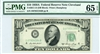 2011-D (DB Block), $10 Federal Reserve Note Cleveland, 1950A