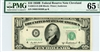 2012-D (DB Block), $10 Federal Reserve Note Cleveland, 1950B