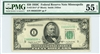 2110-I*, $50 Federal Reserve Note Minneapolis, 1950C