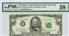 2113-B*, $50 Federal Reserve Note New York, 1963A