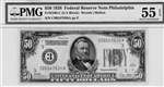 2100-C, $50 Federal Reserve Note Philadelphia, 1928