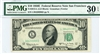 2015-L (LD Block), $10 Federal Reserve Note San Francisco, 1950E