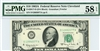 2017-D (DA Block), $10 Federal Reserve Note Cleveland, 1963A