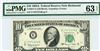 2017-E (EB Block), $10 Federal Reserve Note Richmond, 1963A