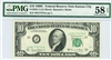 2021-J (JA Block), $10 Federal Reserve Note Kansas City, 1969C