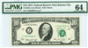 2022-J (JA Block), $10 Federal Reserve Note Kansas City, 1974
