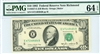 2027-E (EB Block), $10 Federal Reserve Note Richmond, 1985