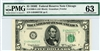 1966-G (GE Block), $5 Federal Reserve Note Chicago, 1950E