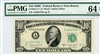 2013-A* (A* Block), $10 Federal Reserve Note Boston, 1950C