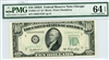2011-G* (G* Block), $10 Federal Reserve Note Chicago, 1950A