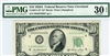 2011-D* (D* Block), $10 Federal Reserve Note Cleveland, 1950A