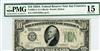 2001-L (LA Block), $10 Federal Reserve Note San Francisco, 1928A