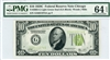2003-G Light Green Seal (GA Block), $10 Federal Reserve Note Chicago, 1928C