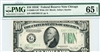 2008-GW Wide (GC Block), $10 Federal Reserve Note Chicago, 1934C