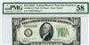 2008-LW Wide (LB Block), $10 Federal Reserve Note San Francisco, 1934C