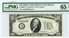 2009-A (AB Block), $10 Federal Reserve Note Boston, 1934D