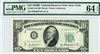 2012-B (BF Block), $10 Federal Reserve Note New York, 1950B