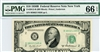 2012-B (BH Block), $10 Federal Reserve Note New York, 1950B
