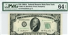 2011-B (BD Block), $10 Federal Reserve Note New York, 1950A