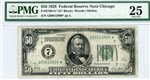 2100-G* (G* Block), $50 Federal Reserve Note Chicago, 1928