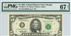 1985-G* (G* Block), $5 Federal Reserve Note Chicago, 1995