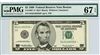 1987-A* (BA* Block), $5 Federal Reserve Note Boston, 1999