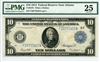 927b, $10 Federal Reserve Note Atlanta, 1914