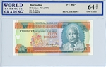 40a*, 50 Dollars Barbados, ND (1989)