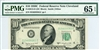 2013-D (DC Block), $10 Federal Reserve Note Cleveland, 1950C