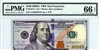 2187-L* (LL* Block), $100 Federal Reserve Note San Francisco, 2009A