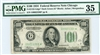 2152-Gdgs* Dark Green (G* Block), $100 Federal Reserve Note Chicago, 1934